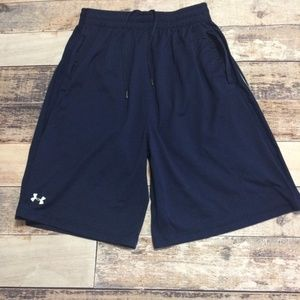Men's Under Armour Navy Blue Athletic Shorts